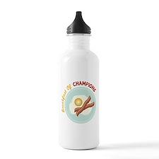 Breakfast Of Champions Water Bottle