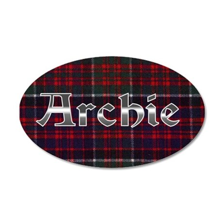 Archie 35x21 Oval Wall Decal