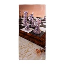 A Game of Chess Beach Towel
