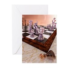 A Game of Chess Greeting Cards