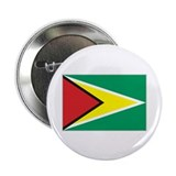 Flag of Guyana 2.25&quot; Button (10 pack)