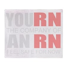 Registered nurse company Throw Blanket
