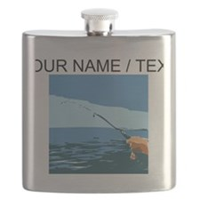 Custom Fishing Flask