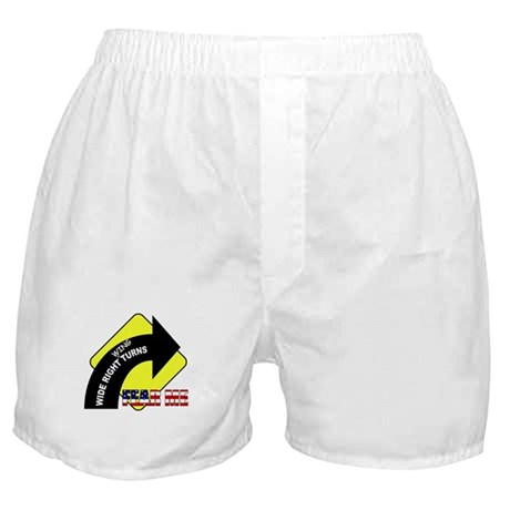 "Wide Right ""Wing"" Turns Boxer Shorts"