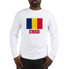 Chad Flag Long Sleeve T-Shirt