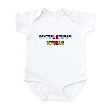 Central African Republic Infant Bodysuit