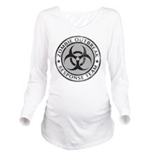 zombieRespTeam2B Long Sleeve Maternity T-Shirt