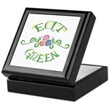Eat Green Vegetarian Vegan Keepsake Box