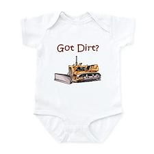 Bull Dozer Infant Bodysuit