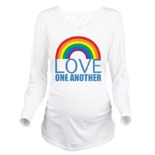 loveoneanother Long Sleeve Maternity T-Shirt