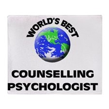 World's Best Counselling Psychologis Throw Blanket