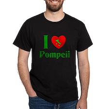 I Love Pompeii Italy T-Shirt