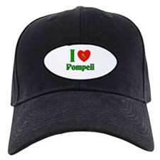 I Love Pompeii Italy Baseball Hat