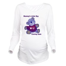 Little Boy Coming So Long Sleeve Maternity T-Shirt