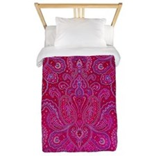 Paisley Jewels Twin Duvet