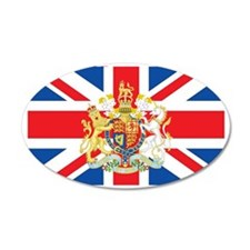 British Flag with Royal Cres Wall Sticker