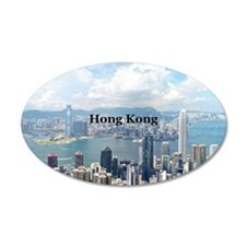 HongKong_5x3rect_sticker_Hon Wall Decal