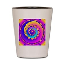Bubble Gum Mandala Shot Glass