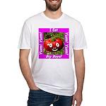 I Eat Big Boys! Fitted T-Shirt