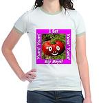 I Eat Big Boys! Jr. Ringer T-Shirt