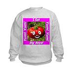 I Eat Big Boys! Kids Sweatshirt