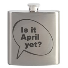 Is it April  yet 2 Flask