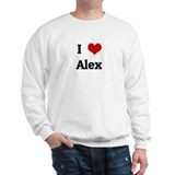 I Love Alex Sweatshirt