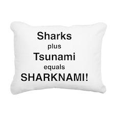 Sharknado? Sharks plus T Rectangular Canvas Pillow