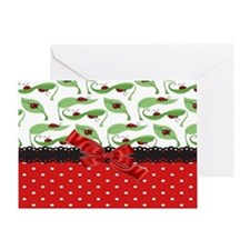 Ladybug Connection Greeting Card