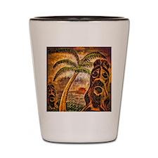 Tiki Island 9-12 Shot Glass