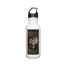 Polish Eagle Brushed M Stainless Steel Water Bottle