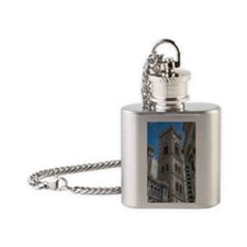 Florence - Giotto's Campanile Flask Necklace
