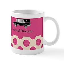 funeral director pink Mug