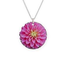 Pink Dahlia Necklace