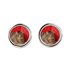 Daisy Kitty Cufflinks