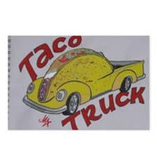 Taco Truck Postcards (Package of 8)