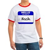 hello my name is nash T