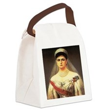 Alexandra Feodorovna Canvas Lunch Bag