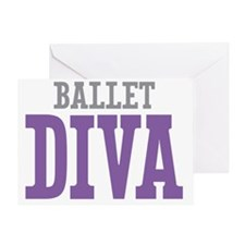 Ballet DIVA Greeting Card