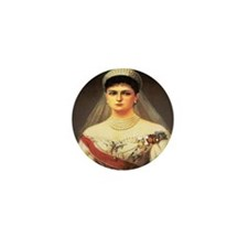 Alexandra Feodorovna Mini Button