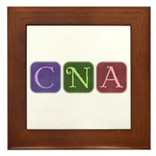 CNA Denim Look Squares Framed Tile