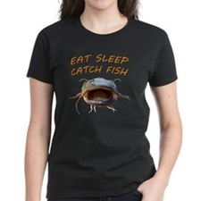 Eat sleep catch fish Tee
