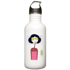 Spa Party Pink Water Bottle
