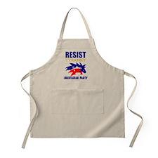 Resist Tyranny Red Apron