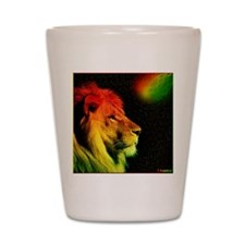 Rasta Lion  Shot Glass