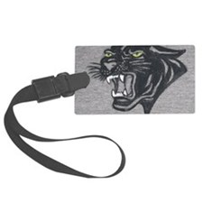 Panther Print Luggage Tag