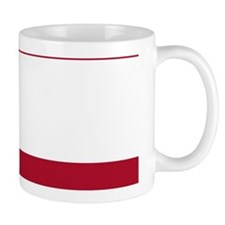 Stripes 1 PC W Dk Berry Red Mug