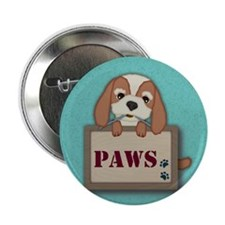 "Customisable Cute Puppy Dog with Signboard 2.25"" B"