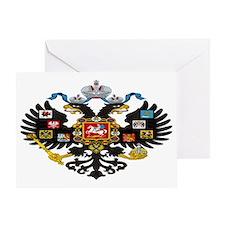 Romanov Crest Greeting Card