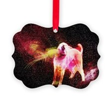 Cosmic God Doge Ornament